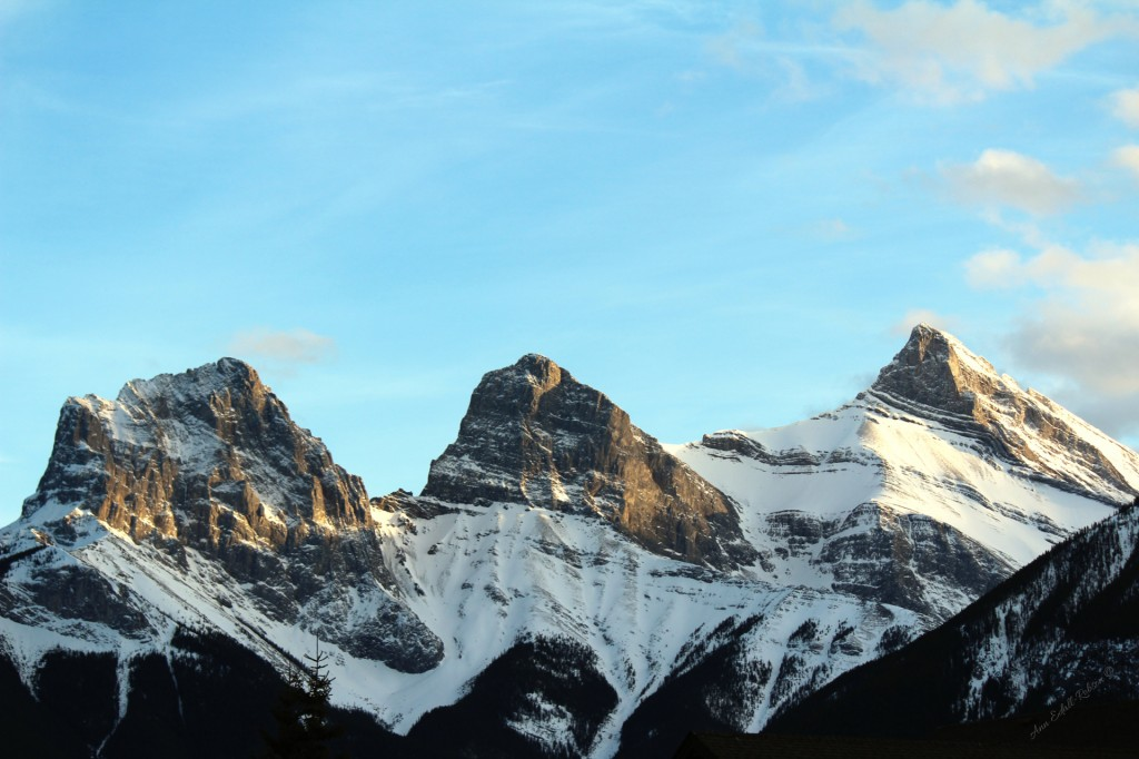 Three sister of canmore alberta